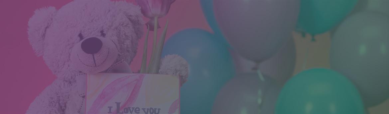 Гелиевые шары и открытки с доставкой